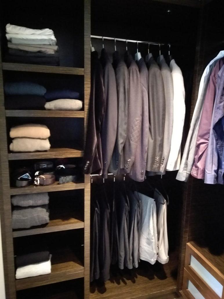 men's closet after image